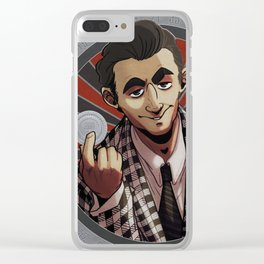 Benny Gecko - Fallout: New Vegas Clear iPhone Case