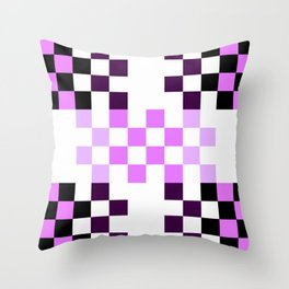 Candy Pixel Throw Pillow