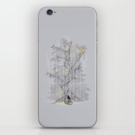 Home Confinement iPhone Skin