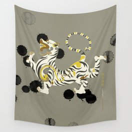 White Tiger of the West Wall Tapestry