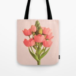 Rather Pink Botanical Tote Bag