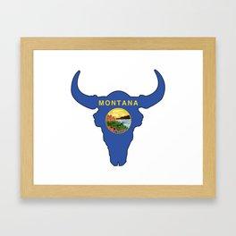 Montana Bison Framed Art Print