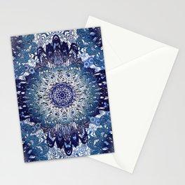 Indigo Lace Mandalas Stationery Cards