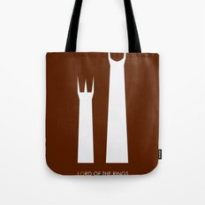 The Lord of the Rings: Two Towers Minimalist Tote Bag