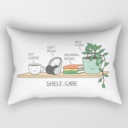 Self-care Rectangular Pillow