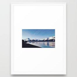 Alaska By Rail Framed Art Print