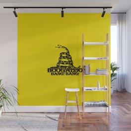Boogaloo Bang  Bang - Gadsden Flag Classic Wall Mural