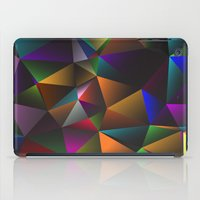triangles iPad Cases featuring TRIANGLES by eARTh