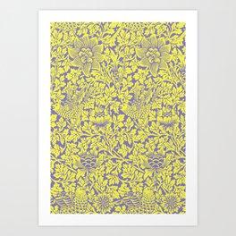 NATURE PATTERN #001 BY CAMA ART Art Print