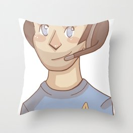 the davey experience Throw Pillow
