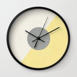 Offset Wall Clock