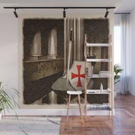 The Lost Templar Wall Mural