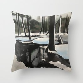 Seager Trail Throw Pillow