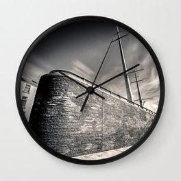 Station Square,Portrush,Ireland,Northern Ireland Wall Clock