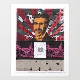 Collage #4 Art Print
