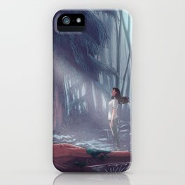 How to be a Werewolf: Malaya in the Forest iPhone Case