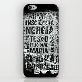 Energia iPhone Skin