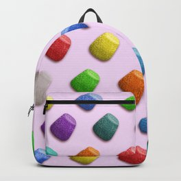 Colorful Gummies wallpapter Backpack
