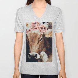Glamour cow Unisex V-Neck