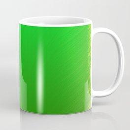 Bright Green Stitch Coffee Mug