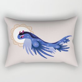 Blue dragon Rectangular Pillow