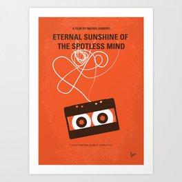 No384 My Eternal Sunshine of the Spotless Mind mmp Art Print