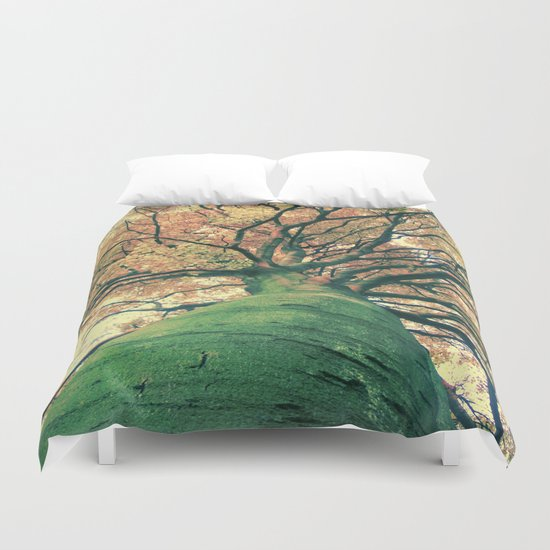 The big strong tree Duvet Cover