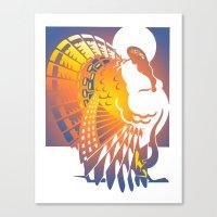 turkey Canvas Prints featuring Turkey by David Chestnutt