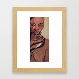 Black Venus Framed Art Print