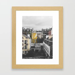 Paris I (Tags) Framed Art Print