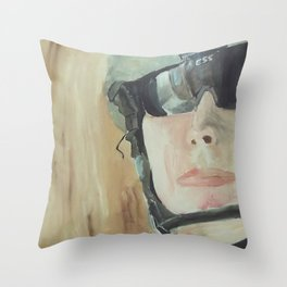 soldier 1 Throw Pillow