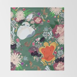 Dauphine Marie Antoinette Throw Blanket