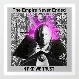 PKD Art Print