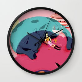 Life in New York Wall Clock