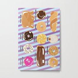 A Dozen Donuts Metal Print