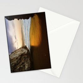 Golden Beach, Nerja, Spain Stationery Cards