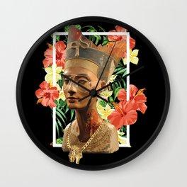 Queen Nefertiti 2 Wall Clock