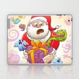 A Christmas Gift from Halloween Creepies to Santa Laptop & iPad Skin