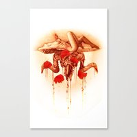 baphomet Canvas Prints featuring baphomet by Maria Catherine