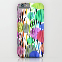 Floating on air abstract iPhone Case