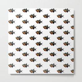 Something Fishy This Way Comes Metal Print