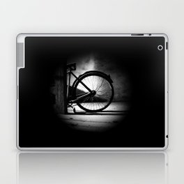 Old bicycle in a dusty attic Laptop & iPad Skin
