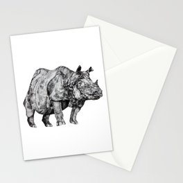 Rhino I Stationery Cards