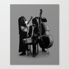 The Invisibles (On Grey) Canvas Print