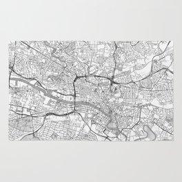 Glasgow Map Line Rug