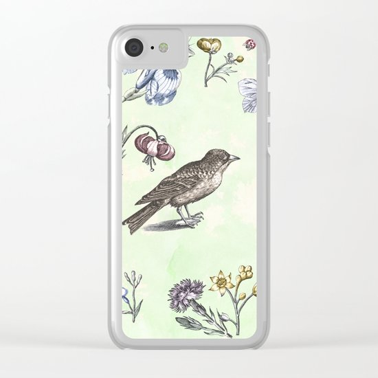 Nature is a temple Clear iPhone Case