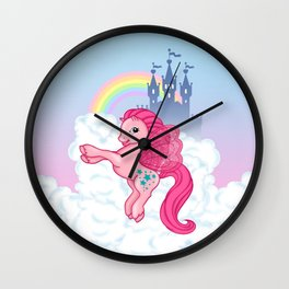 g2 my little pony Princess Twinkle Star at royal castle Wall Clock