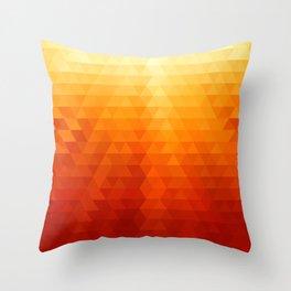 Geometric Shine Throw Pillow