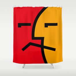 Hello? Shower Curtain