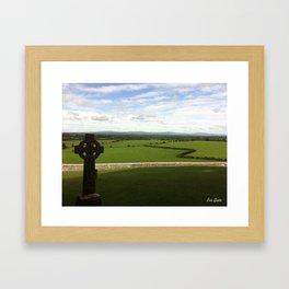 The Rock of Cashel Framed Art Print
